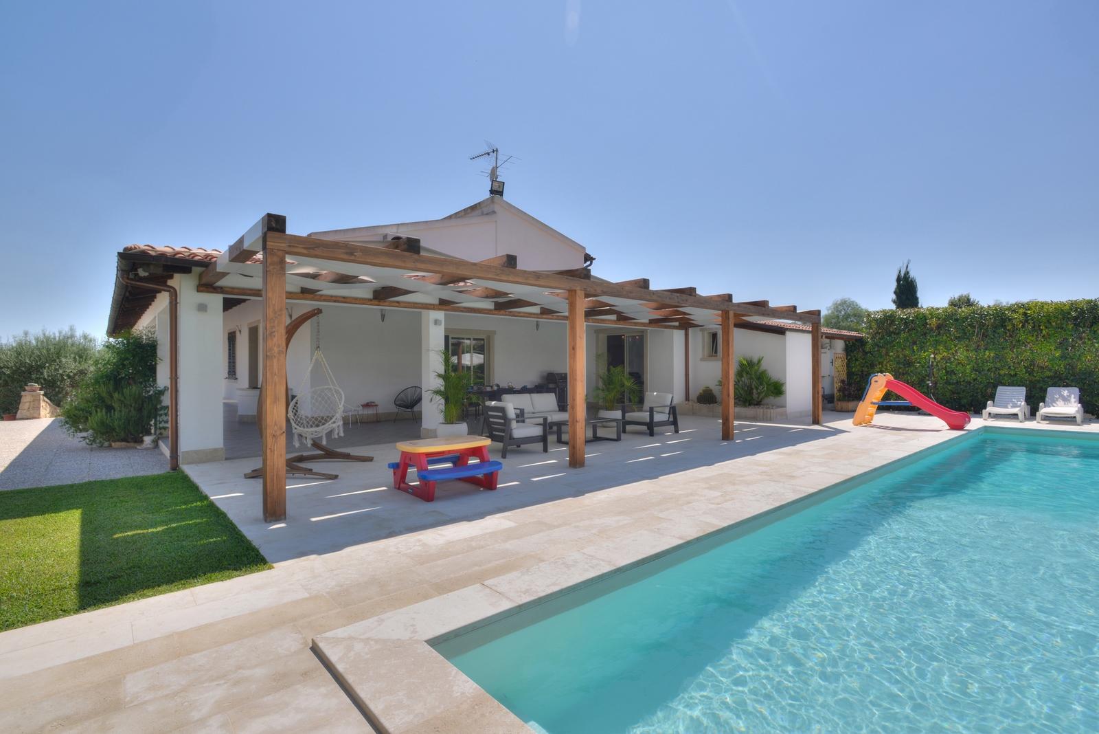Maison de vacances Villa Monasteri (1606039), Floridia, Siracusa, Sicile, Italie, image 7